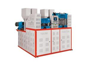 TM-222 Çift Renk İki İstasyon | Termo | Pvc |TWO STATİON DOUBLE COLOUR TERMO-PVC                                                                                                       BASE MACİNE